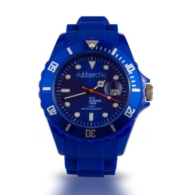 Relojes - Rubberchic Reloj Basic Blue 48mm