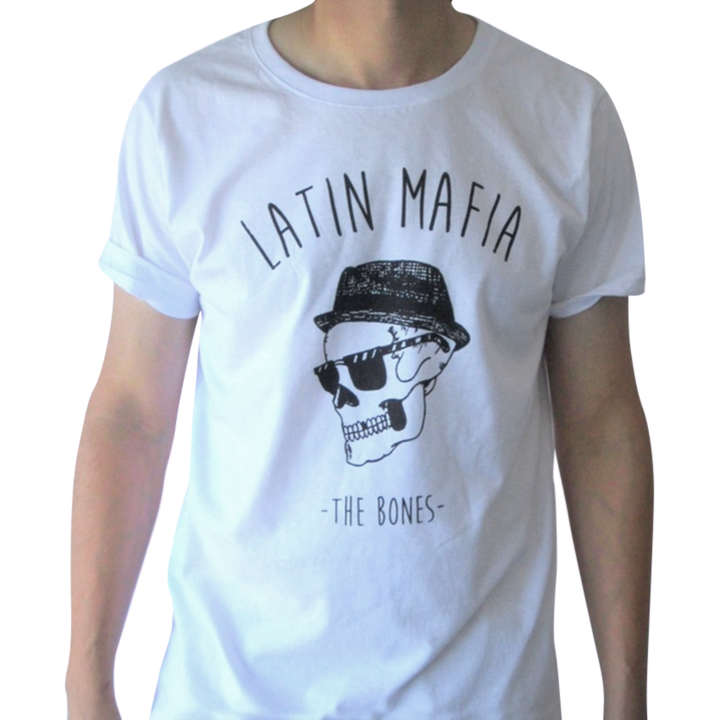 Mangas Cortas - The Bones  Remera Latin Mafia