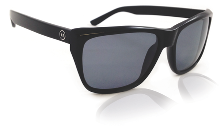Sunglasses - Hoven Vision KATZ Black Gloss / Grey Polarized