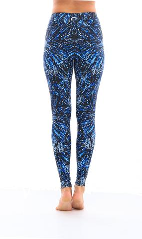 Leggings - Okiino Indigo Lionfish Leggings