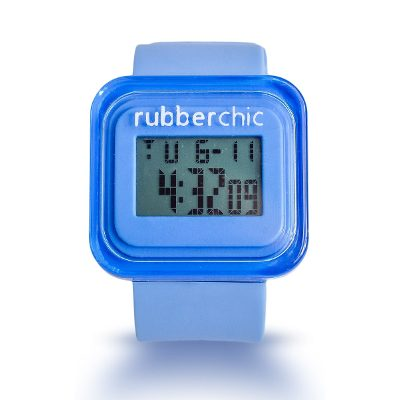 Relojes - Rubberchic Reloj Box Blue Light