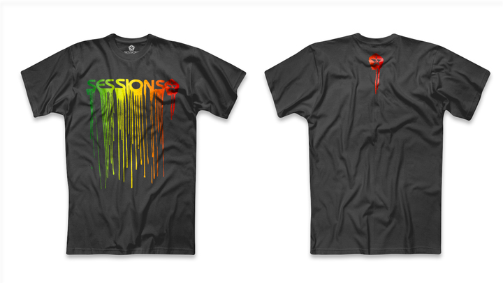 Mangas Cortas - Sessions Remera Drip