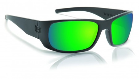 Hoven Vision MATCH Black on Black / Green Chrome Polarized