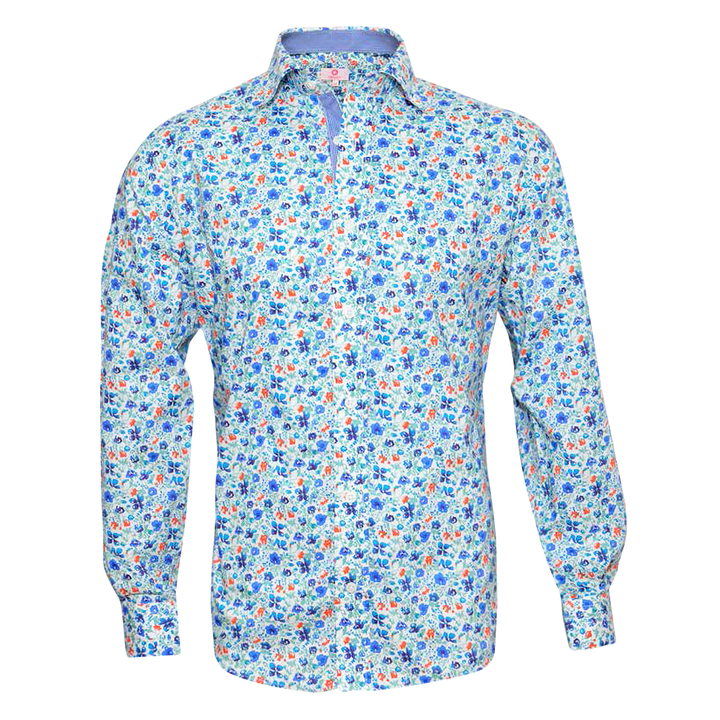 Mangas Largas - Crouch Camisa flores