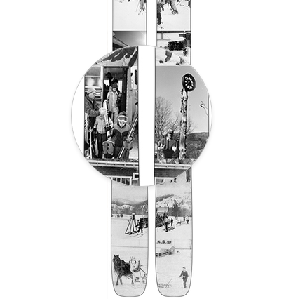 Praxis Skis SPECIAL EDITION // LIMTED TIME ONLY NES 80th Anniversary Limited Edition Ski