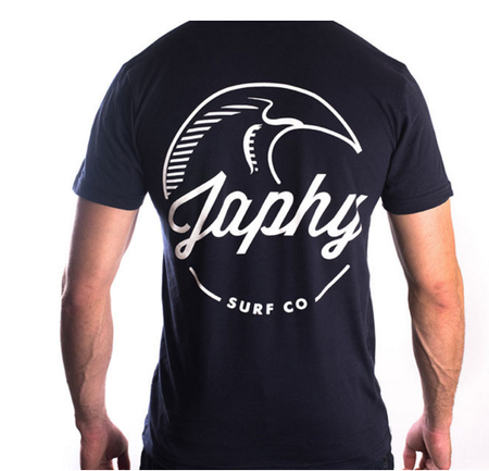 Tees - Japhy Surf Co Japhy Classic Pocket Tee