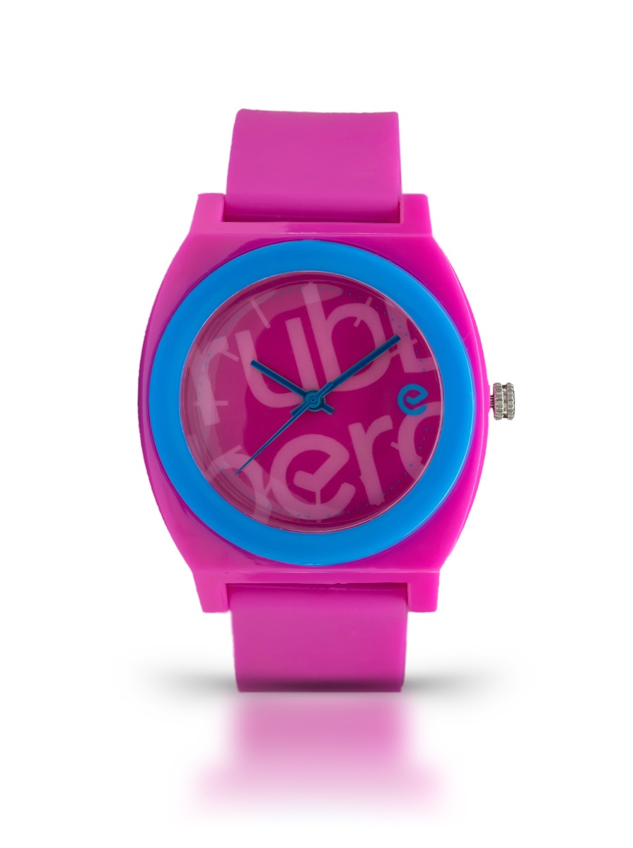 Relojes - Rubberchic Reloj Rubberchic Wave Fucsia