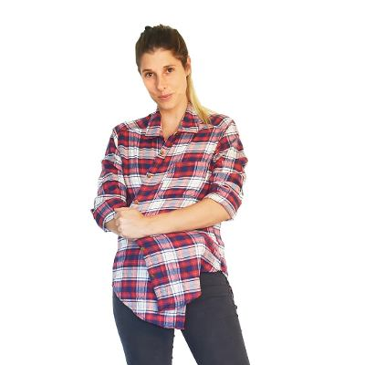 Chelsea Market  Chelsea Market Camisa Mujer Escocesa Camisas Cuadrille