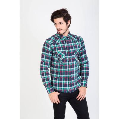 Mangas Largas - Kout Camisa Morning Cuadros
