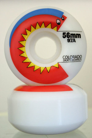 Wheels - Colorado Skateboards Chomper Wheel 97a