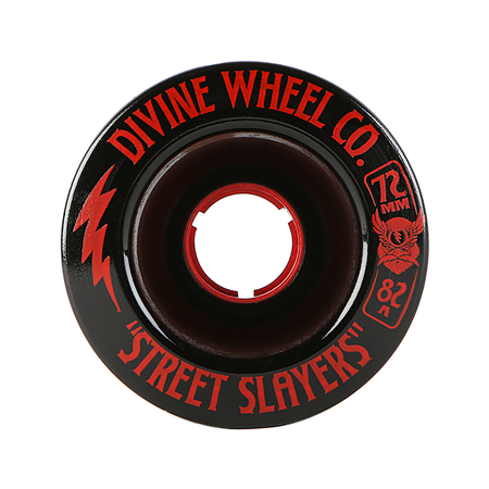 Wheels - Divine Street-Slayers-72mm-Black