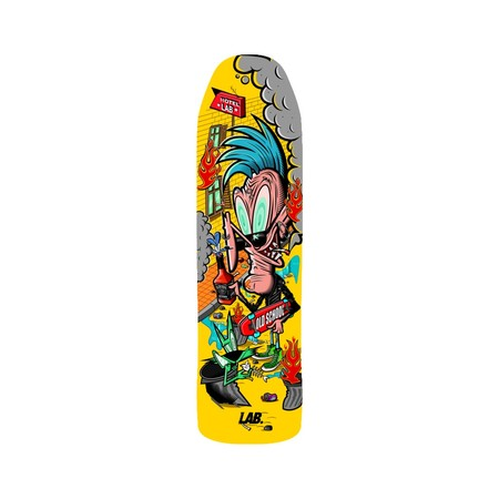 Tablas - Lab Skateboarding Deck de Skate Old School Punk
