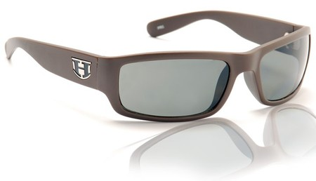 Sunglasses - Hoven Vision HIGHWAY Brown Matte - Grey Polarized