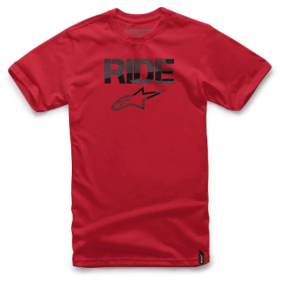 Mangas Cortas - Alpinestars Remera Ride Stealth