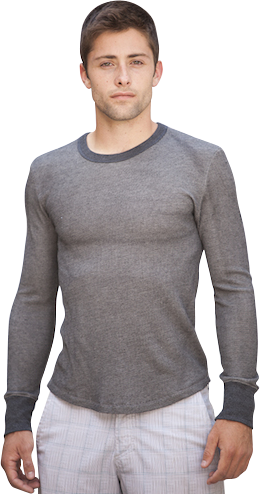 Long Sleeve - California 89 Men's Long Sleeve Thermal Gondola Tee