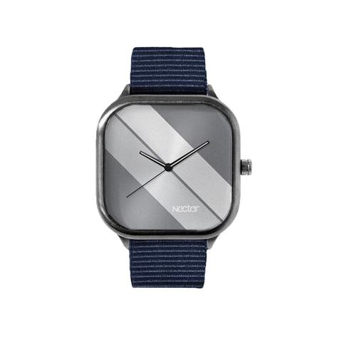 Watches - Duckfeet NAVY STRIPE WATCH