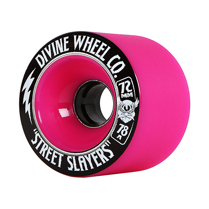 Wheels - Divine Street-Slayers-72mm-Hot-Pink