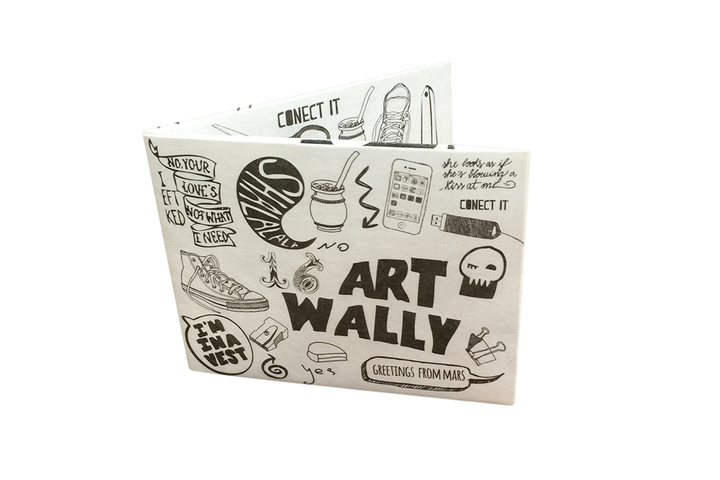 Billeteras - Wally Wallets Billetera Art Wally