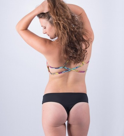 Bikinis - Sensi Graves Bikinis Gabby Bottom - Wildflower/Lava Rock