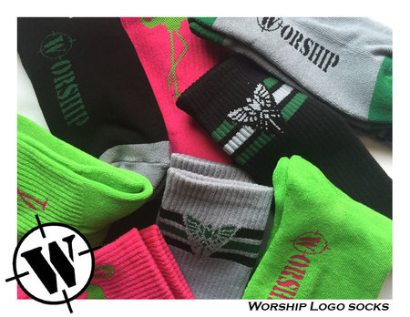 Socks - Worship Skateboards Worship Socks