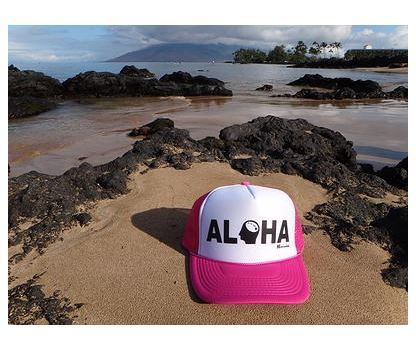Ball Caps & Snapbacks - Hi Minded Aloha Trucker Hat
