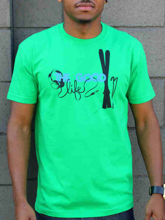 Tees - Flipside Fresh THE GOOD LIFE SKI