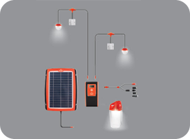 Travel - D.light Design d.light D20 Solar Home System Kit