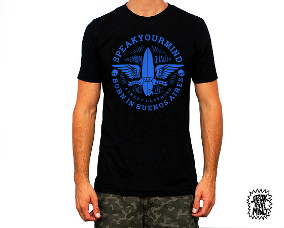 Mangas Cortas - Speak Your Mind Remera Surf
