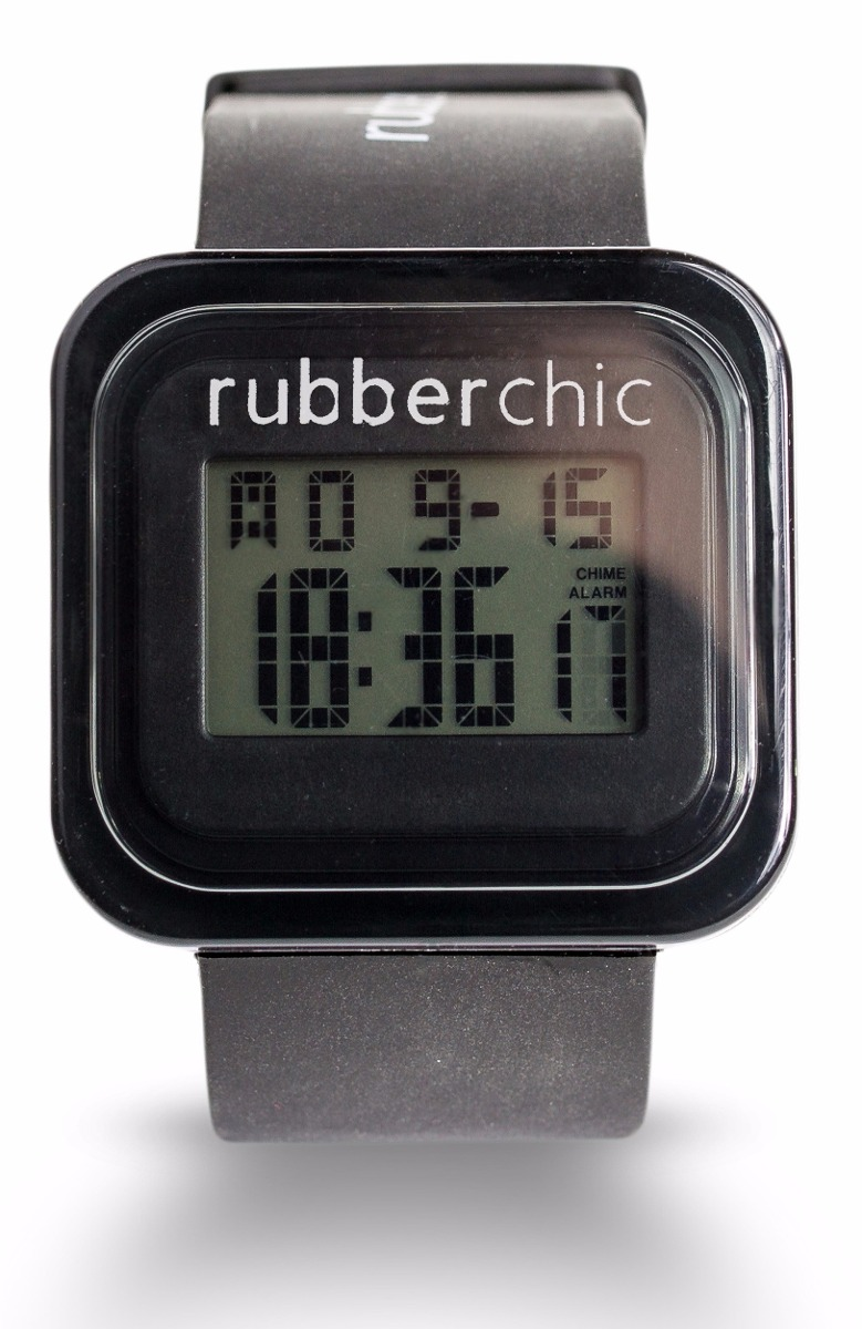 Relojes - Rubberchic Reloj Mini Box Black
