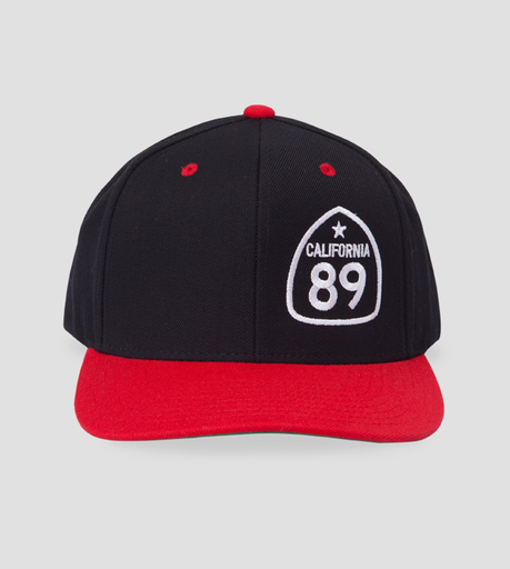 Ball Caps & Snapbacks - California 89 Flattop Hat Side Shield