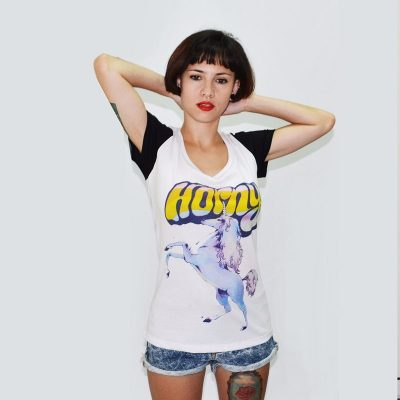 Fight For Your Right Fight For Your Right Remera Estampada Remeras Horny Unicorn