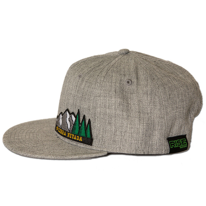 Ball Caps & Snapbacks - Rise Designs The Sierra Nevada Snapback Hat