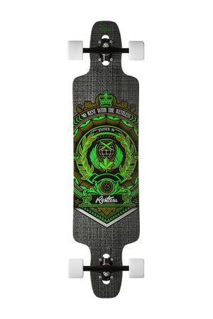 Restless Longboards Splinter40 FiberLam 2015 Crest Deck Longboard