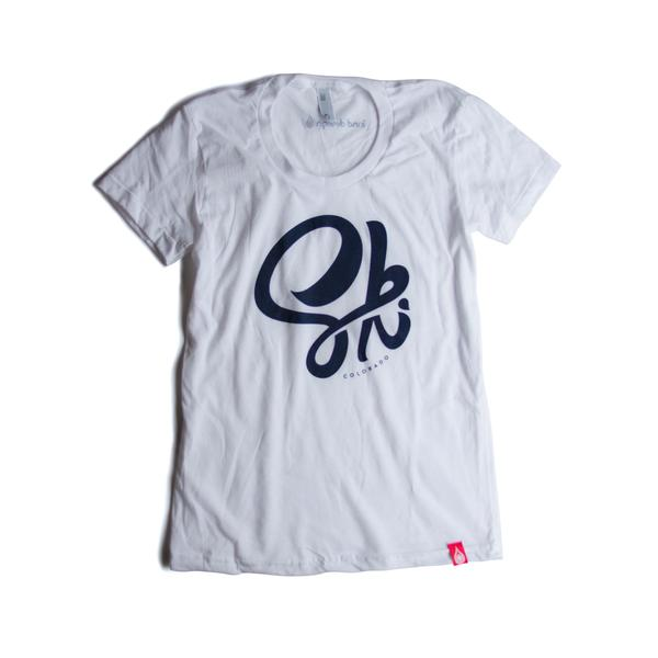 Tees - Kind Design SKI CO T-SHIRT (WOMEN)