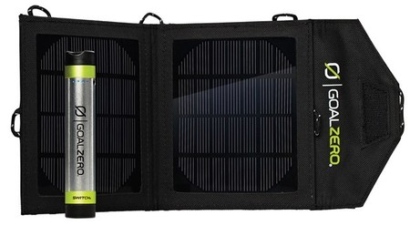 Paneles Solares - Goal Zero Panel Solar Kit Solar SWITCH 8