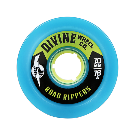 Wheels - Divine Road-Rippers-75mm-Cyan