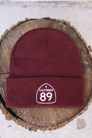 Beanies - California 89 Beanie with Flap Side Shield