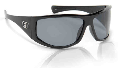Sunglasses - Hoven Vision LAW - Black Gloss/Grey