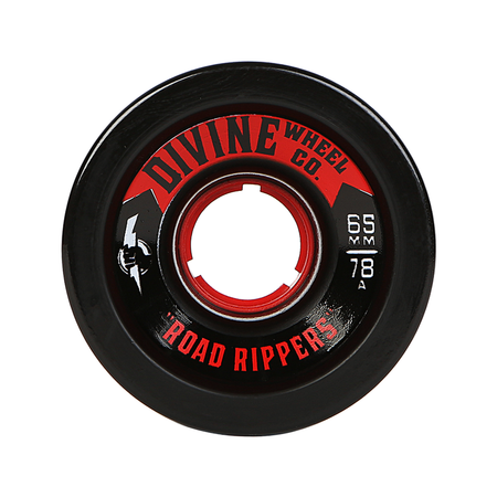 Wheels - Divine Road-Rippers-65mm-Black