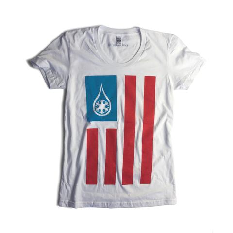 Tees - Kind Design KIND AMERICA WOMEN'S T-SHIRT