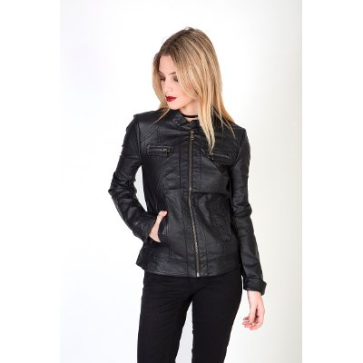 Camperas - Kout Campera Lady Pu Leather Jessica