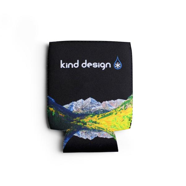 More - Kind Design MAROON  BELLS  KOOZIE