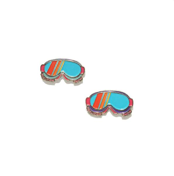 All Mountain - Coalition Snow Goggles Pin