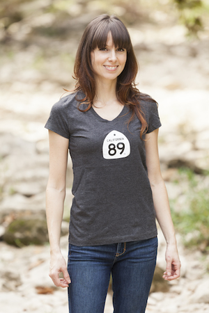 Tees - California 89 WOMEN'S SHORT SLEEVE V-NECK GOLF