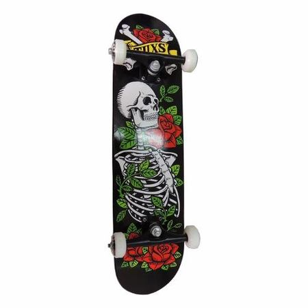 Completos - Tuxs Skateboard Completo - Skull & Roses