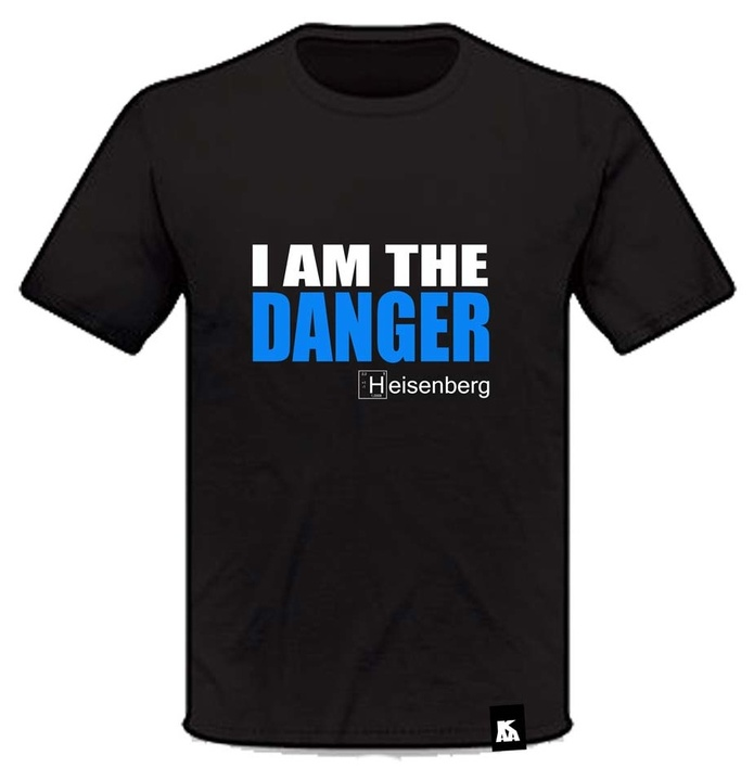 Mangas Cortas - Tomi Kaa Remera Heisenberg I Am the Danger