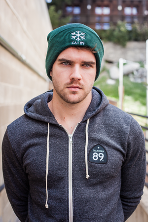 Beanies - California 89 Beanie with Flap Snowflake