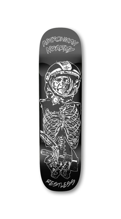 Restless Longboards AstroHican 2013 Deck LongBoard - Deck only