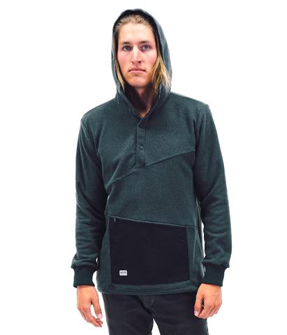 Hoodies & Sweatshirts - Desolation Supply Co The Ropi Snap Hoodie