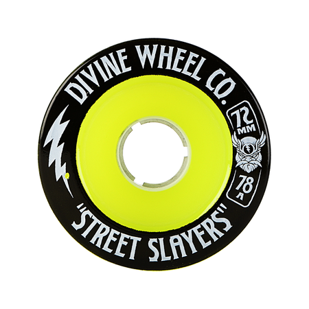 Wheels - Divine Street-Slayers-72mm-Green